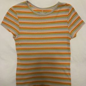 Women's urban outfitters striped t-shirt